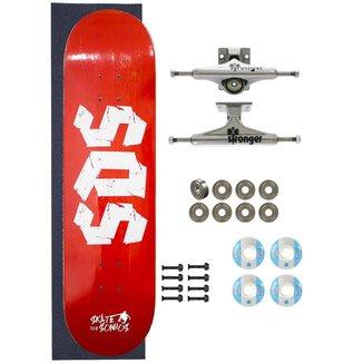 Skate Completo Amador SDS Co 8.0 Blooding