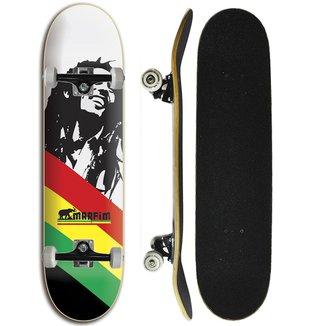 Skate Completo Iniciante Marfim  - Bob
