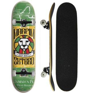 Skate Completo Iniciante Marfim  - Jamaica