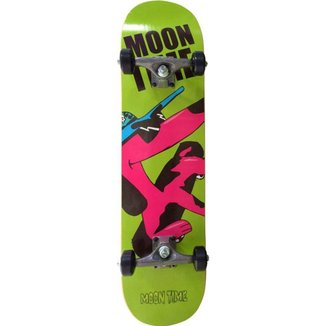 """Skate Completo OWL Sports Moon Time 32"""" X 7,6"""""""
