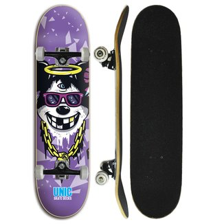 Skate Completo Unic Skateboard - Rato Gangster 7.8 8