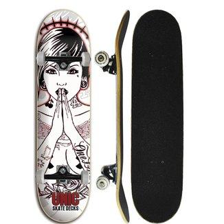 Skate Completo Unic Skateboard - Reza 7.8 8