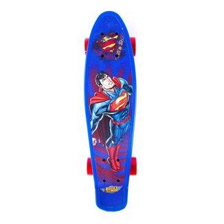 Skate Cruiser Liga da Justiça - Superman