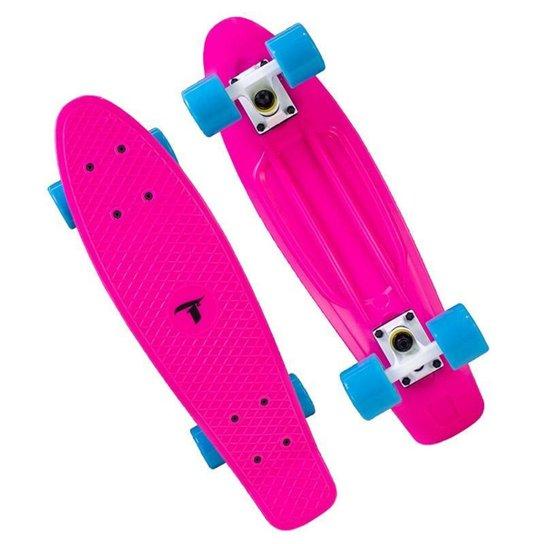 Skate Cruiser Traxart - 15x57cm - Pink - Rosa+Pink