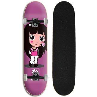 Skate Feminino Iniciante Completo Progress - PGS Menina