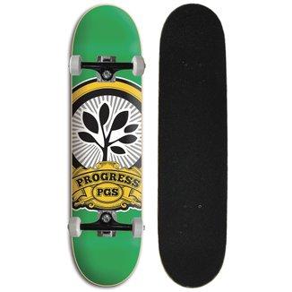 Skate Iniciante Completo Progress - PGS Logo Verde