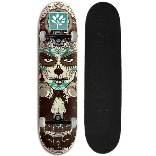 Skate Iniciante Completo Progress - PGS Mexican - Estampado