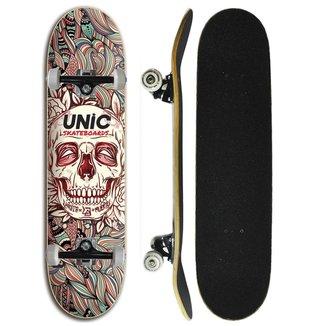 Skate Iniciante Completo Unic Skateboard - Caveira