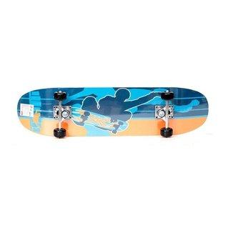 Skate Iniciante Unitoys Ref.1179 - Shape Azul/Lar