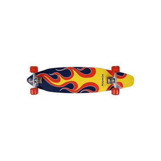 Skate Longboard 96,5cm x 20cm x 11,5cm Sortido - Azul - Azul