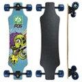 Skate Longboard Fish completo Pgs  Skull Prego 7.9