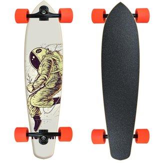 Skate Longboard Montado completo  Nectar - Astronauta