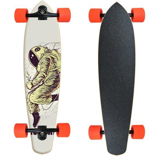 Skate Longboard Montado completo  Nectar - Astronauta - Preto