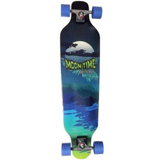 Skate Longboard Moon Time Wave Speed
