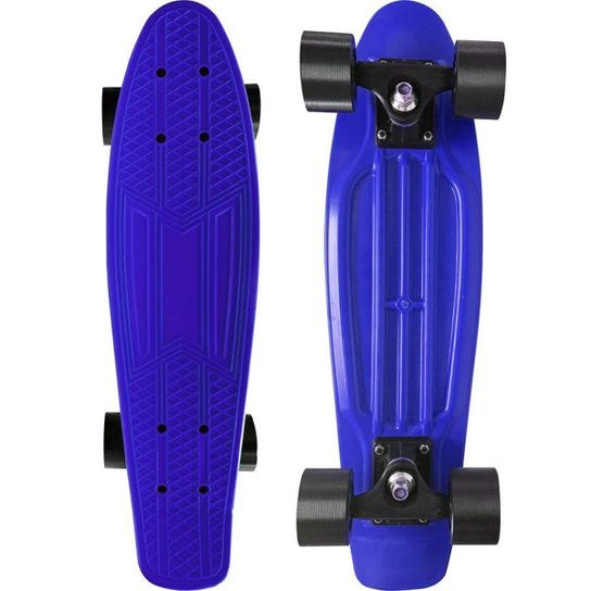 Skate Mini Cruiser Moon Time 22 POL. NET - Azul Escuro