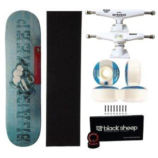 Skate Montado Black Sheep Maple Importado 8.0 Truck Intuder 139mm