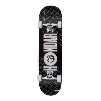 Skate Montado Creme Hondar Iniciante Preto