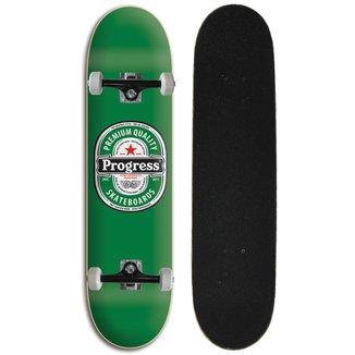 Skate montado Iniciante Progress - PGS  Cerveja