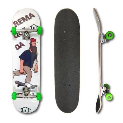 Ir para Mulheres House Skateboarding Muerte Leão e +