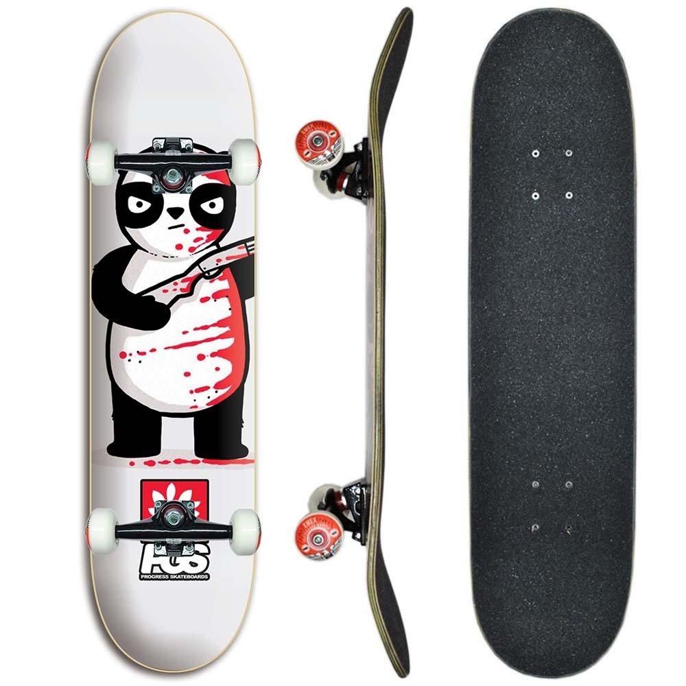 707a81e9b1 Skate montado Profissional Progress - PGS Panda 8.0 - Compre Agora ...