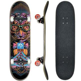 Skate montado Profissional Progress - PGS - Tigre 8.0