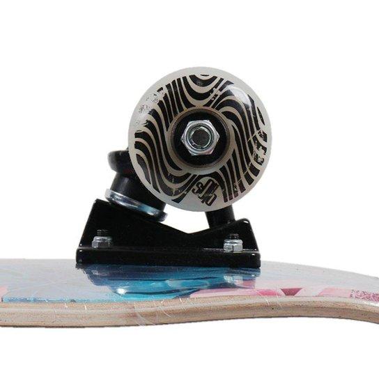 Skate Montado Solo Pro Skate Serie Colagem Unissex - Verde