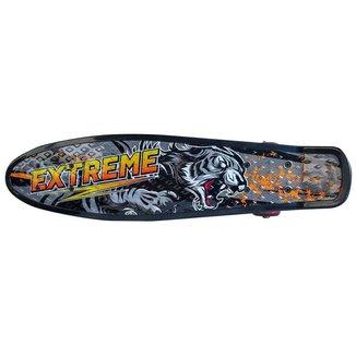 Skate Penny Board Unitoys Ref.1562 - Preto/Rosa