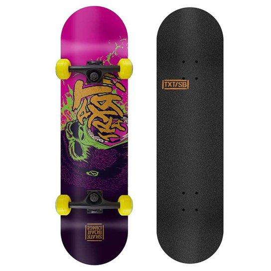 Skate Profissional X-Pro Traxart 19.5 - Rosa+Violeta