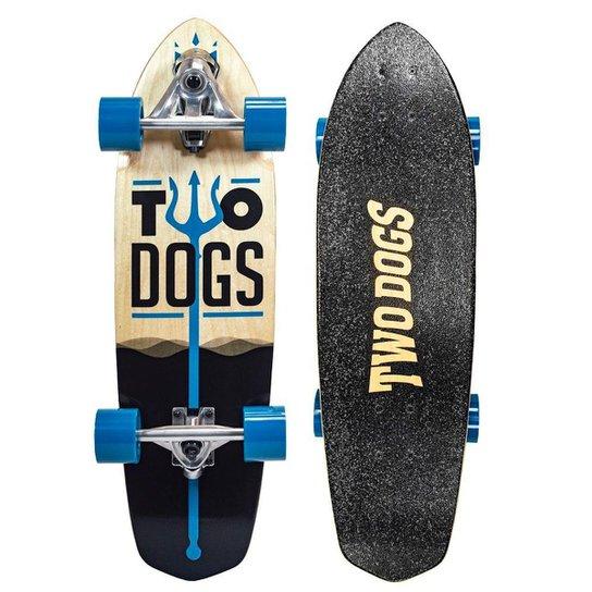Skate Simulador de Surf Two Dogs - Azul