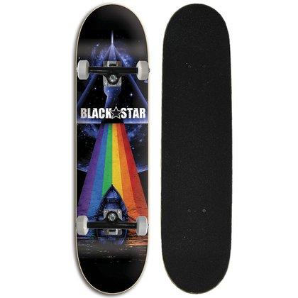Skate Street Completo Iniciante Black Star - Zepplin