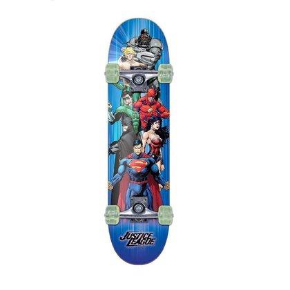 Skate Warner Skateboard Linha Liga Da Justiça