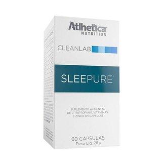 Sleepure - 60 Cápsulas - Atlhetica nutrition