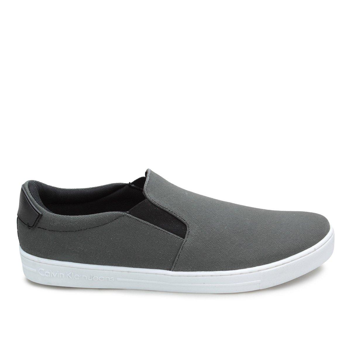 d8c311814a079 Slip On Calvin Klein Iate Lona Masculino - Compre Agora   Netshoes