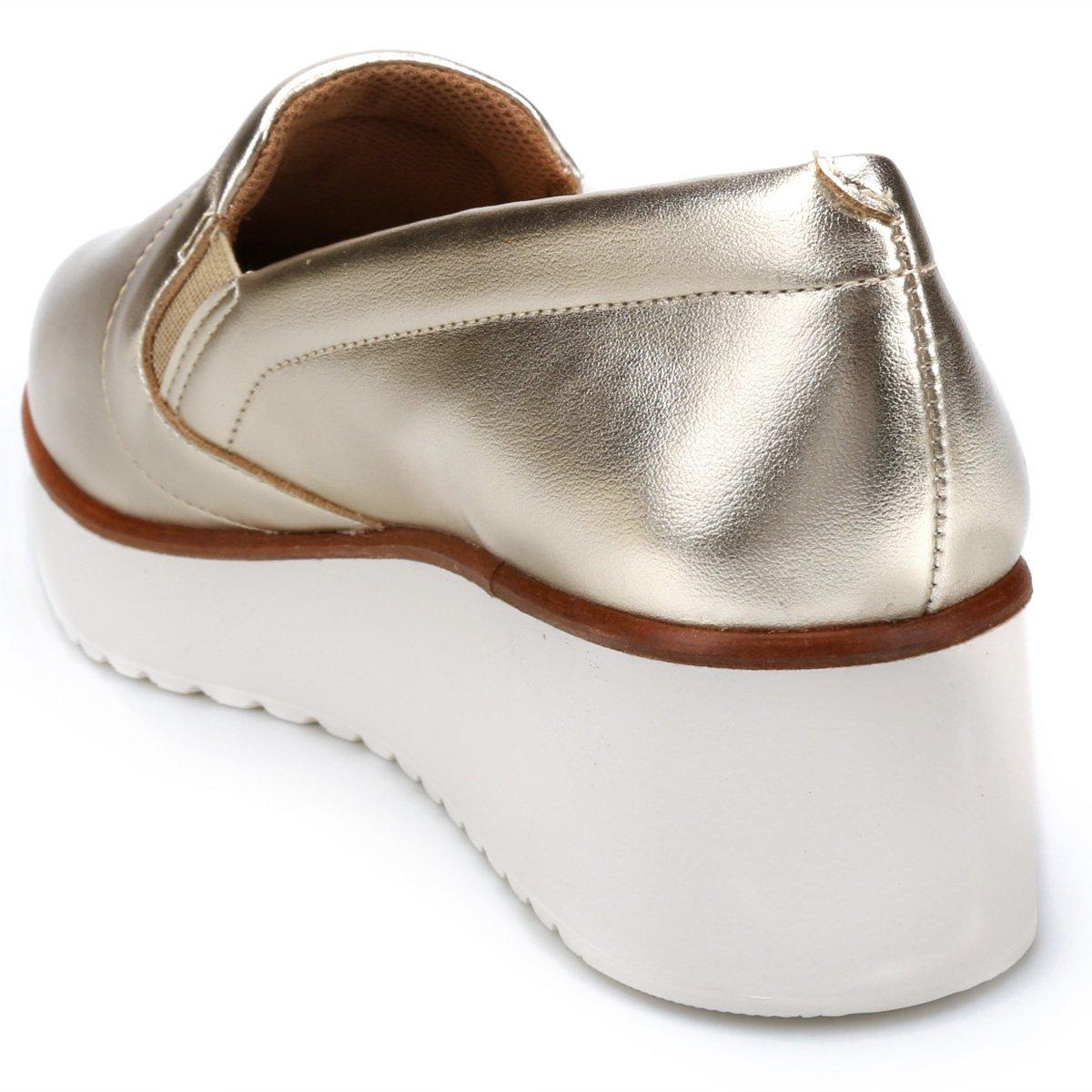 Slip Capodarte On Capodarte Flatform On Dourado Capodarte Flatform Slip Slip On Dourado 1wC6Cdfxq