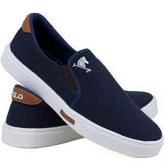 Slip On Iate Polo Joy Lona Masculino