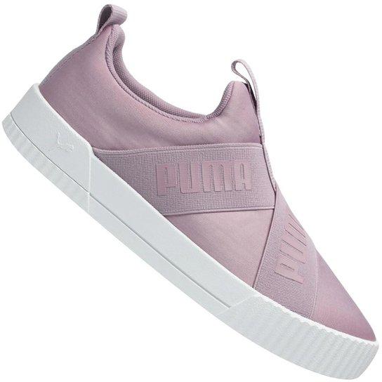 Slip-On Puma Carina Bdp Feminino - Preto+Pink