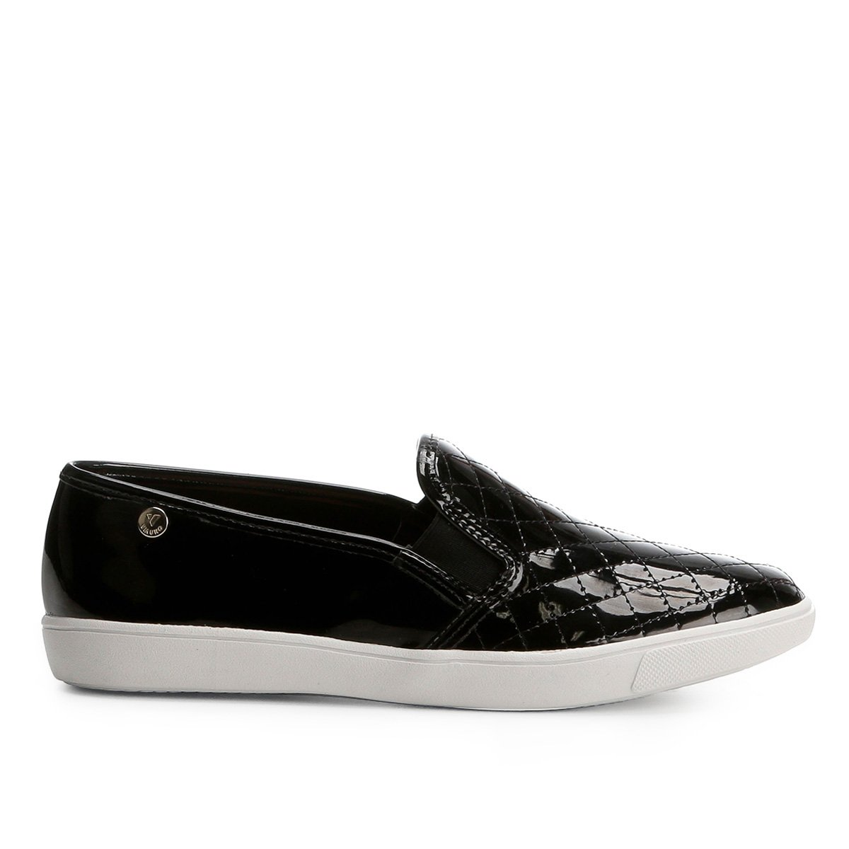 Via Slip On Slip Matelassê Uno Feminino On Preto qxAw5vEtw