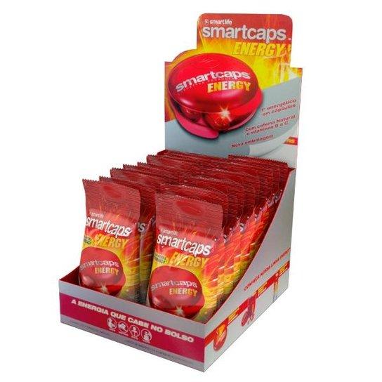 Smartcaps Energy - 20 Sachês 4 cápsulas cada - Smart Life -