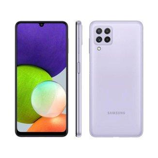 Smartphone Galaxy A22 128GB Violeta 4G Samsung