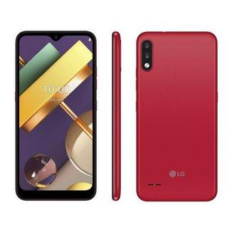 Smartphone LG K22+ 64GB Red 4G Quad-Core 3GB RAM