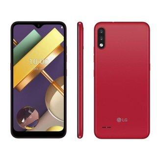 Smartphone LG K22 Red 4G Quad-Core 2GB RAM