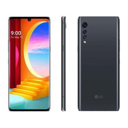 Smartphone LG Velvet 128GB Aurora White Octa-Core