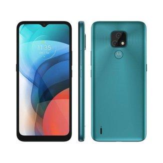 Smartphone Motorola Moto E7 32GB Aquamarine