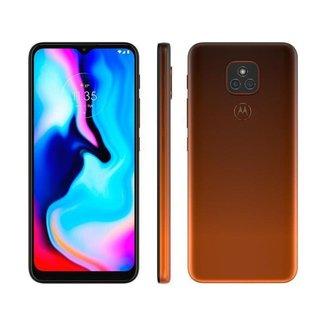 Smartphone Motorola Moto E7 Plus 64GB Bronze Âmbar