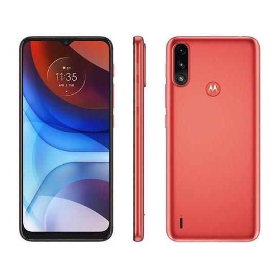 Smartphone Motorola Moto E7 Power 32GB - Vermelho