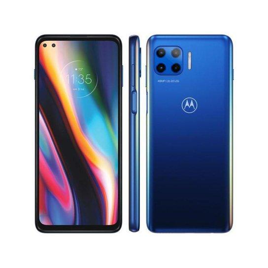 Smartphone Motorola Moto G 5G Plus 128GB - Azul