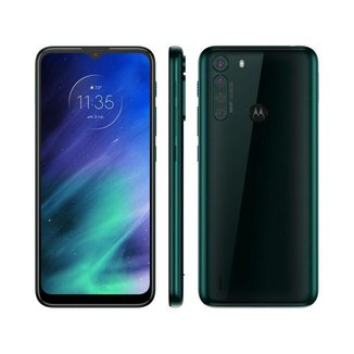 "Smartphone Motorola One Fusion 128GB - 4GB RAM Tela 6,5"" Câm. Quádrupla + Selfie 8MP"
