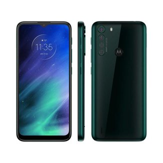 "Smartphone Motorola One Fusion 64GB - 4G 4GB RAM Tela 6,5"" Câm. Quádrupla + Selfie 8MP"