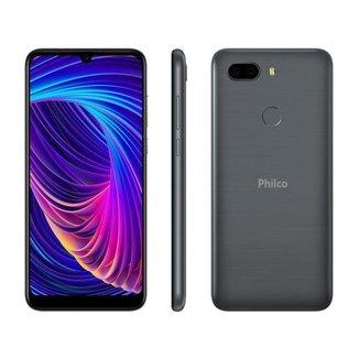 Smartphone Philco PCS02RG Hit Max 128GB Cinza