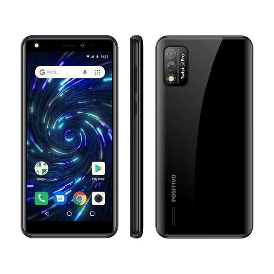 Smartphone Positivo Twist 4 Pro 64GB   4G - Preto